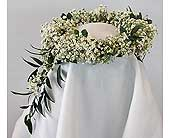 A Ring of Baby's Breath in Kalamazoo MI, Ambati Flowers