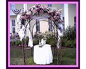 Gazebo with Stargazers in Tuckahoe, New Jersey, Enchanting Florist & Gift Shop