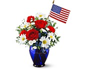 Albany Flowers - Spirit of America - The White Rose Custom Floral Design