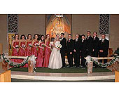 Wedding Party in Lansdale PA, Genuardi Florist