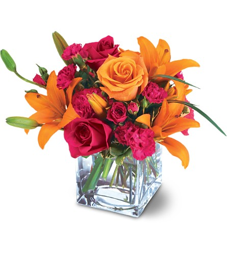 Teleflora's Uniquely Chic Bouquet in Big Rapids, Cadillac, Reed City and Canadian Lakes MI, Patterson's Flowers, Inc.
