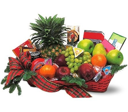 Fruit and Gourmet Basket in Norristown PA, Plaza Flowers