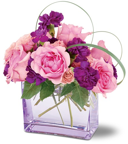 Teleflora's Raspberry Revel Bouquet in San Francisco CA, Fillmore Florist