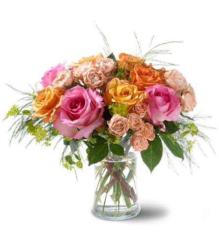 Teleflora's Garden of Roses in New York NY, Fellan Florists Floral Galleria