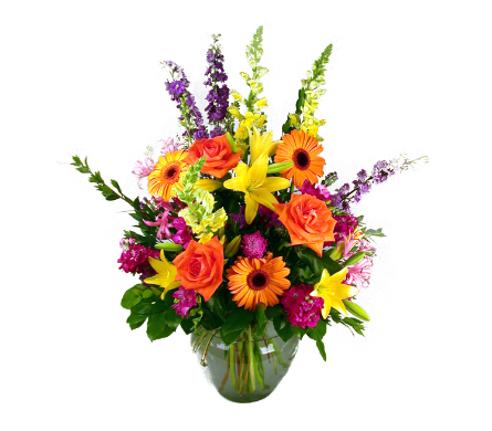Luscious Garden Bouquet in Indianapolis IN, McNamara Florist
