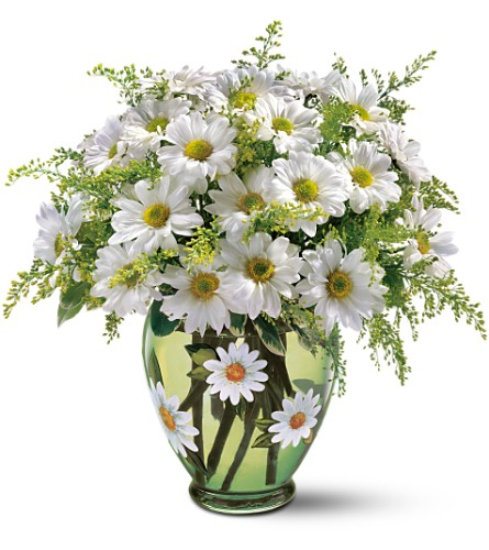 Teleflora's Crazy for Daisies Bouquet in Bellevue WA, Lawrence The Florist