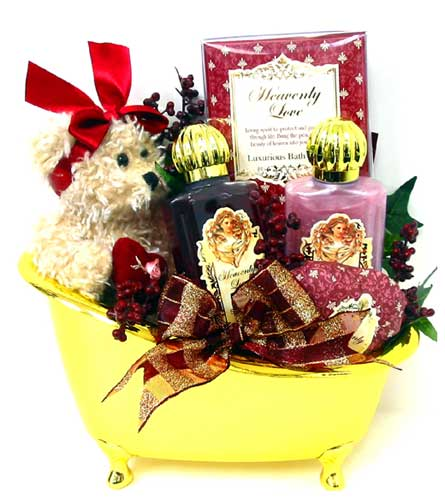 GB206 ''Bath Splash'' Bath & Body Basket in Oklahoma City OK, Array of Flowers & Gifts