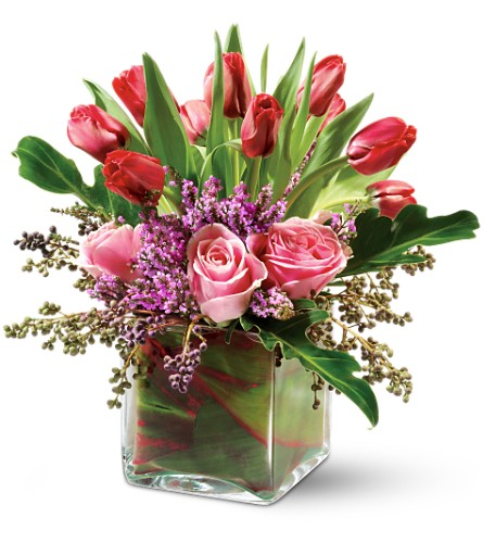 Teleflora's Sweetheart Kiss in New York NY, Fellan Florists Floral Galleria