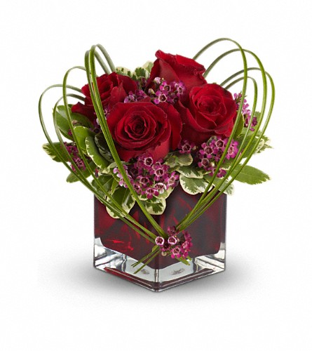 Teleflora's Sweet Thoughts Bouquet with Red Roses in Wichita KS, Tillie's Flower Shop