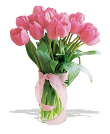 Spring Tulips - Deluxe Light Pink in San Francisco CA, Fillmore Florist