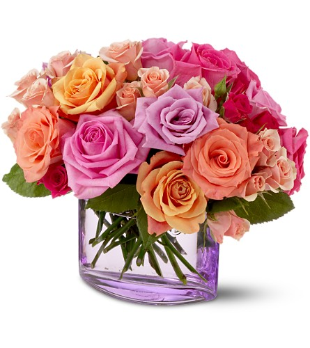Teleflora's Rose Harmony in San Francisco CA, Fillmore Florist