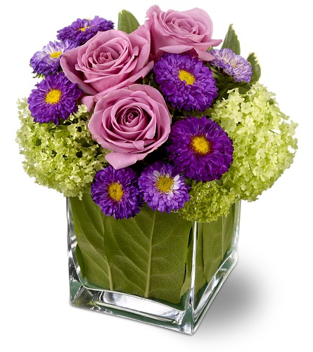 Teleflora's Simply Charming in usa-send-flowers NJ, Stanley's America's Florist & Gifts