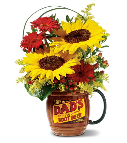 Rootin' for Dad - Deluxe Bouquet in Caribou ME, Noyes Florist & Greenhouse