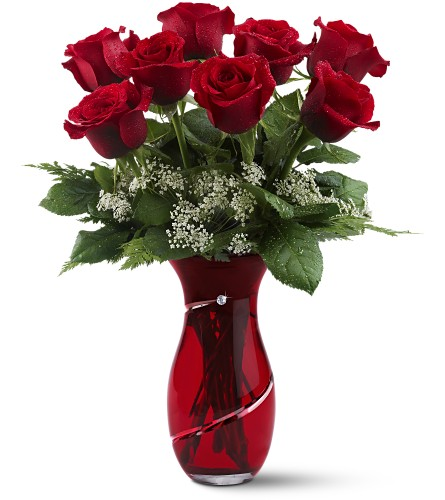 Teleflora's Diamonds & Roses in Sayville NY, Sayville Flowers Inc