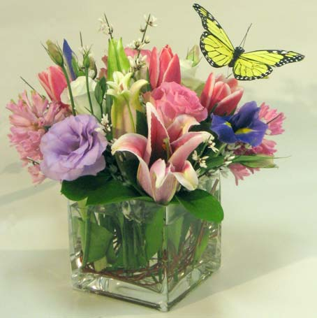 Colorful Fragrance Cube in Westlake Village CA, Thousand Oaks Florist