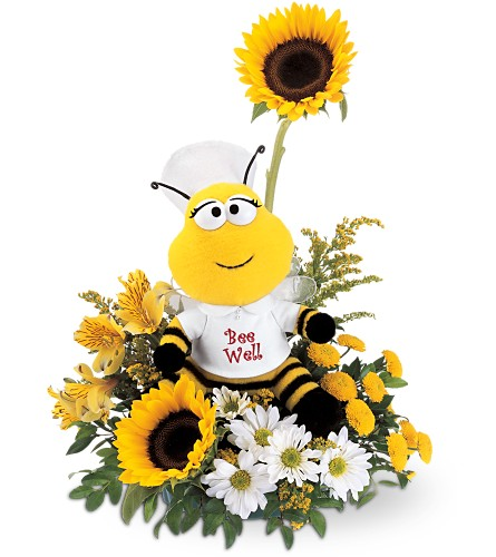 Teleflora's Bee Well Bouquet in Baltimore MD, Raimondi's Flowers & Fruit Baskets