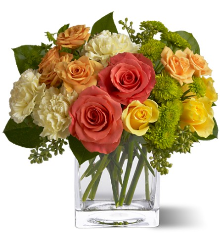 Teleflora's Citrus Splash in Locust Valley NY, Locust Valley Florist