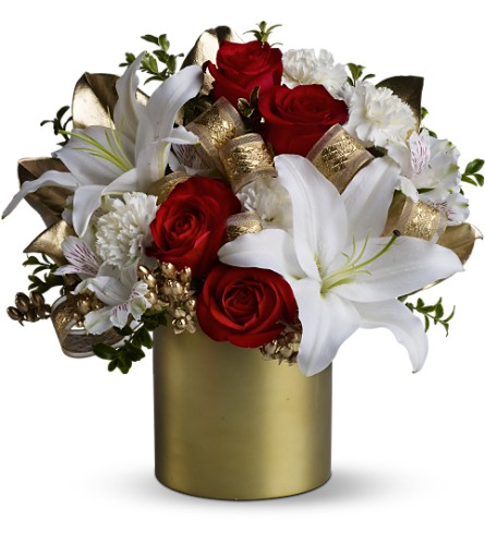 Teleflora's 24 Karat Bouquet in Hamilton OH, Gray The Florist, Inc.