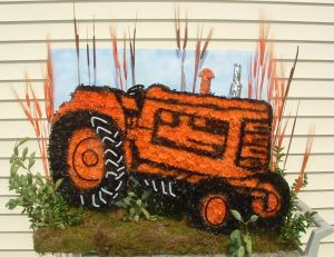 Tractor in Salisbury MD, Kitty's Flowers