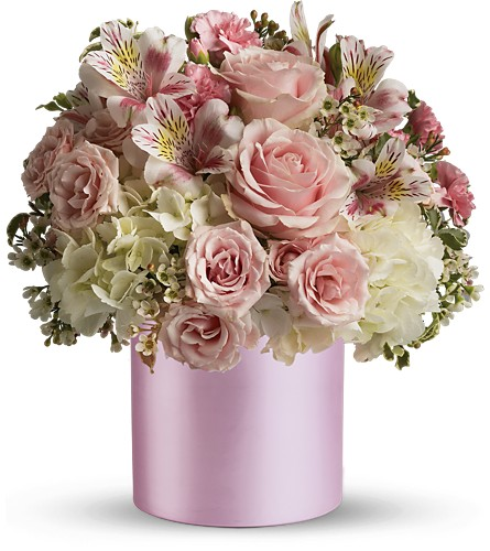 Teleflora's Sweet Pinks Bouquet in Liverpool NY, Creative Florist