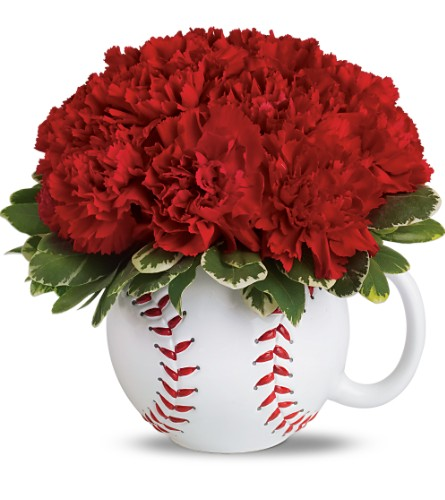 Teleflora's Play Ball Bouquet in Kent WA, Blossom Boutique Florist & Candy Shop