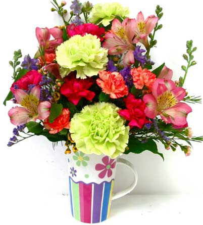 FF112 ''Flower Power'' Spring Bouquet in Oklahoma City OK, Array of Flowers & Gifts