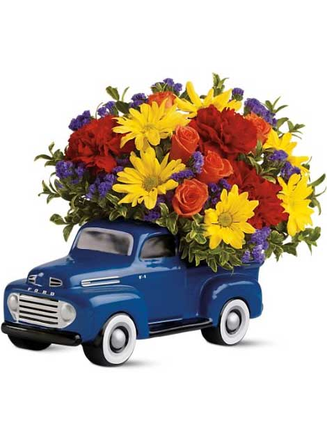 1948 Ford Pickup Bouquet in McLean VA, MyFlorist