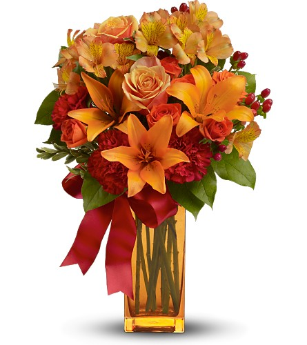 Teleflora's Orange Crush in Columbia TN, Doris' Flowers & Gifts