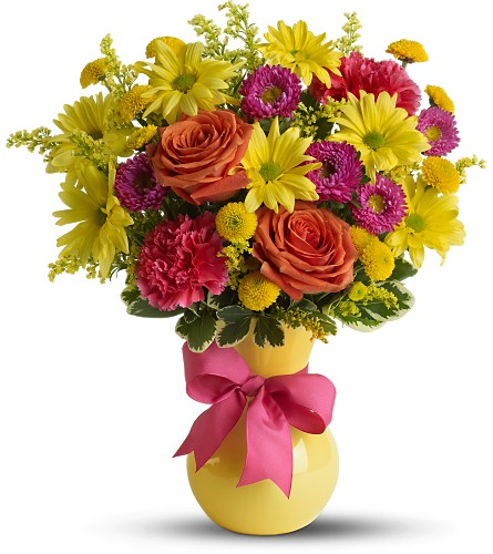 Teleflora's Hooray-diant! in Laurel MD, Rainbow Florist & Delectables, Inc.