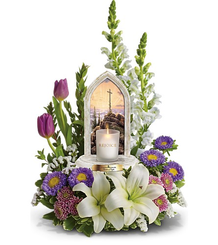 Thomas Kinkade's Easter Joy Bouquet by Teleflora in Mesa AZ, Razzle Dazzle Flowers & Gifts