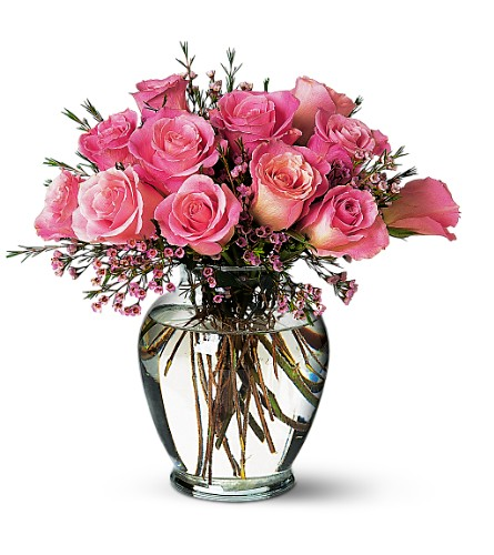 Pink Birthday Roses Local and Nationwide Guaranteed Delivery - GoFlorist.com
