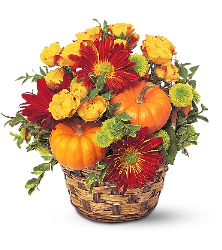 Hint of Fall in usa-send-flowers NJ, Stanley's America's Florist & Gifts