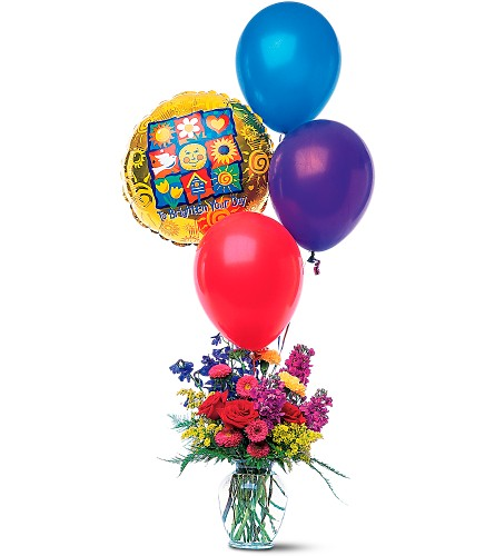 Balloons and a Boost in Oklahoma City OK, Array of Flowers & Gifts