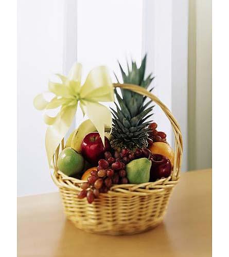 Корзина из фруктов своими руками фото