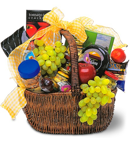 Gourmet Picnic Basket in Hollywood FL, Al's Florist & Gifts