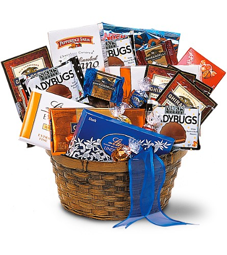 Chocolate Lover's Basket in Sebring FL, Sebring Florist, Inc