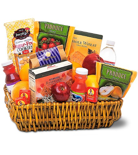 Healthy Gourmet Basket in Covington LA, Florist Of Covington