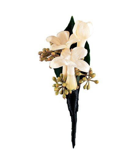 Stephanotis Boutonniere in Westminster CA, Dave's Flowers