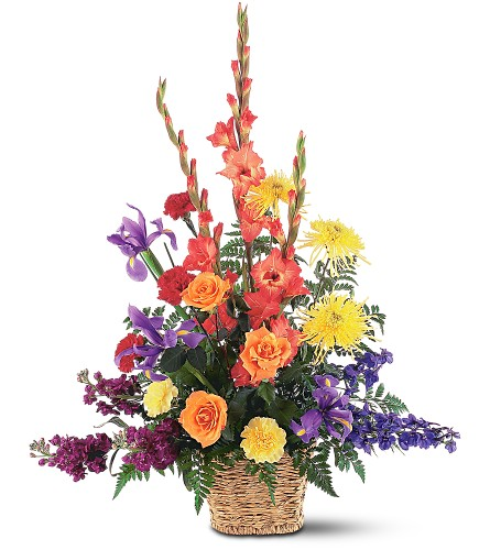 Rainbow Basket in Bend OR, All Occasion Flowers & Gifts