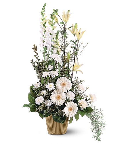 White Impressions in Bakersfield CA, White Oaks Florist