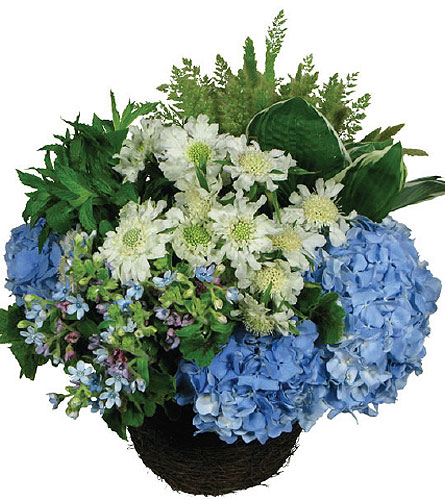 Summer Meadow Basket in New York NY, Fellan Florists Floral Galleria