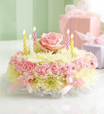 Birthday Flower Cake Pastel In Loganville Ga Basket