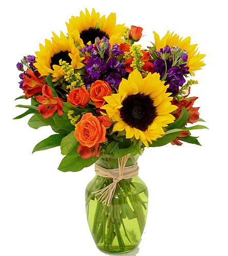 Sunflowers and More in Birmingham AL, Norton's Florist