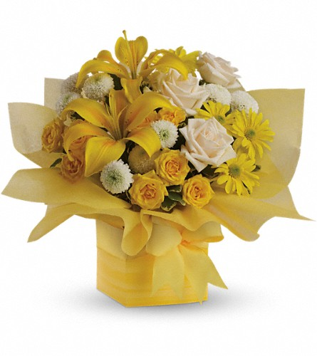 Teleflora's Sunshine Surprise Present in San Clemente CA, Beach City Florist