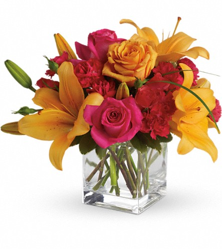 Teleflora's Uniquely Chic in Dallas TX, Petals & Stems Florist