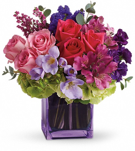 Exquisite Beauty by Teleflora in Saratoga Springs NY, Dehn's Flowers & Greenhouses, Inc