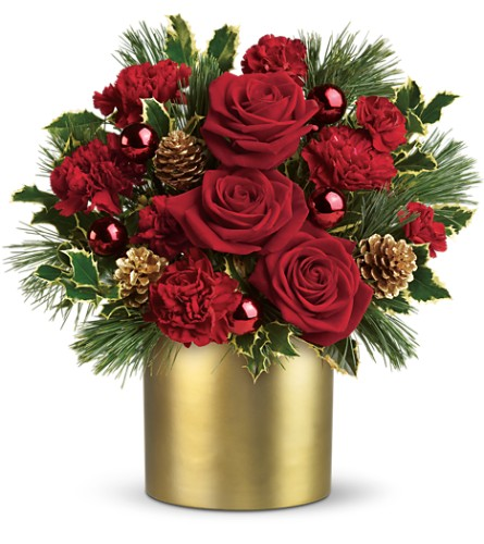Teleflora's Holiday Elegance in Terrace BC, Bea's Flowerland