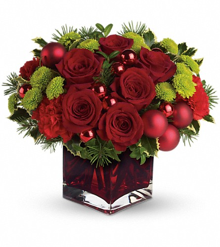 Teleflora's Merry & Bright in Olean NY, Mandy's Flowers