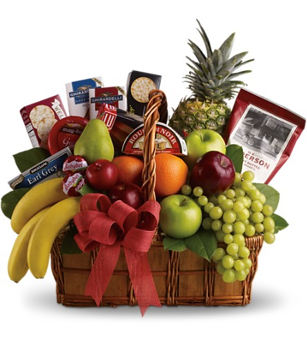 Bon Vivant Gourmet Basket in Huntington WV, Spurlock's Flowers & Greenhouses, Inc.