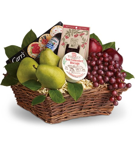 Delicious Delights Basket in usa-send-flowers NJ, Stanley's America's Florist & Gifts